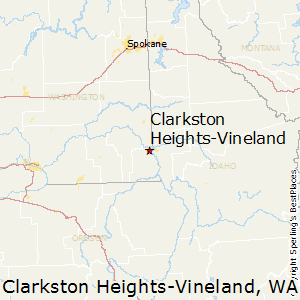 Comparison Clarkston Heights Vineland Washington Lewiston Idaho