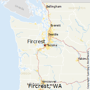 Comparison Fircrest Washington Spanaway Washington