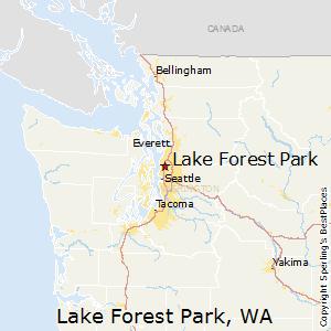 Lake Forest Park, Washington Climate