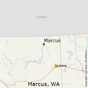 Marcus,Washington Map