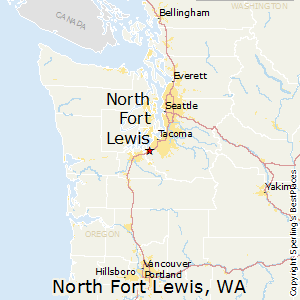 Fort Lewis Washington Map North Fort Lewis, Washington Cost of Living