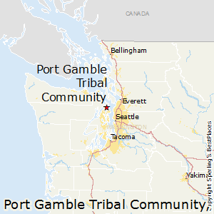 Port_Gamble_Tribal_Community,Washington Map