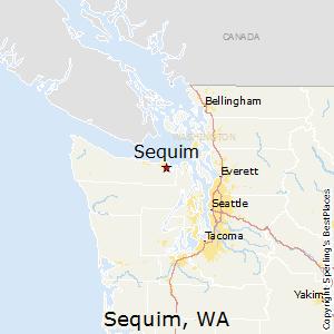 Sequim Zip Code Map.Best Places To Live In Sequim Washington