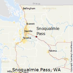 Comparison Snoqualmie Pass Washington Cle Elum Washington