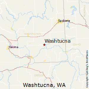 Washtucna,Washington Map