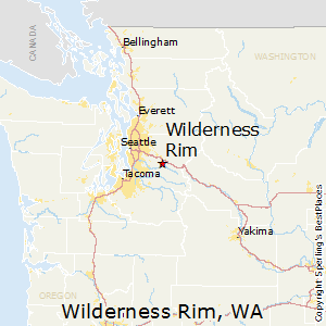 Wilderness_Rim,Washington Map
