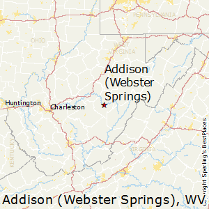 Addison_(Webster_Springs),West Virginia Map