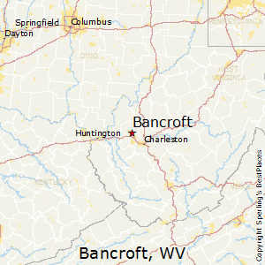 Bancroft,West Virginia Map