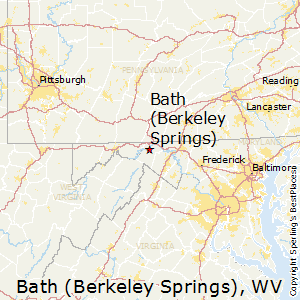 Bath_(Berkeley_Springs),West Virginia Map