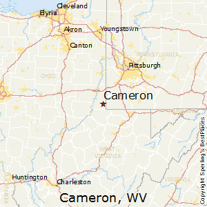 Cameron,West Virginia Map