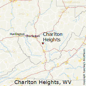 Charlton_Heights,West Virginia Map