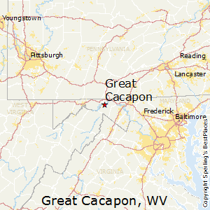 Great_Cacapon,West Virginia Map