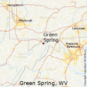 Green_Spring,West Virginia Map