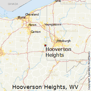 Hooverson_Heights,West Virginia Map