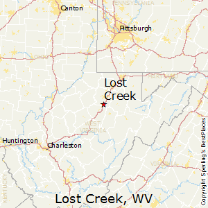 Lost_Creek,West Virginia Map
