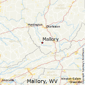 Mallory,West Virginia Map