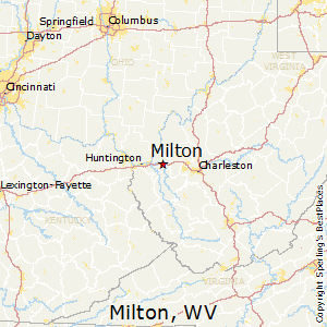 Ashton Virginia Map.Best Places To Live In Milton West Virginia