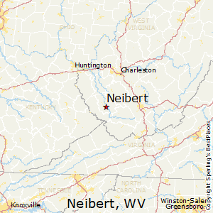 Neibert,West Virginia Map