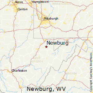 Newburg,West Virginia Map
