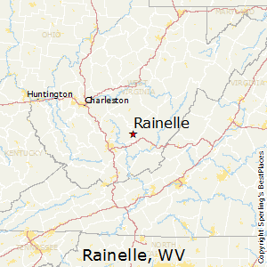 Rainelle,West Virginia Map