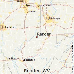 Reader Zip Code Map.Reader West Virginia Climate