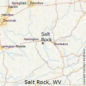 Salt_Rock,West Virginia Map