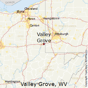 Valley_Grove,West Virginia Map
