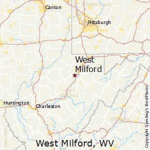 West_Milford,West Virginia Map