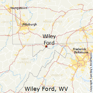 Wiley_Ford,West Virginia Map