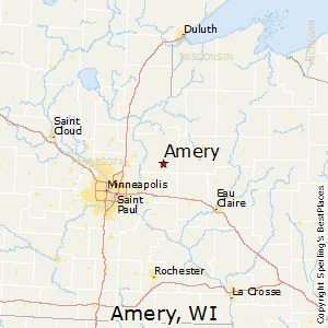 Comparison: Barron, Wisconsin   Amery, Wisconsin
