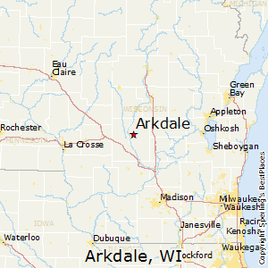 Arkdale,Wisconsin Map