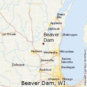 Beaver Dam Wi Map Beaver Dam, Wisconsin Cost of Living Beaver Dam Wi Map