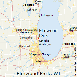 Elmwood_Park,Wisconsin Map