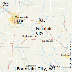 Fountain_City,Wisconsin Map