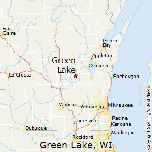 Green_Lake,Wisconsin Map