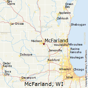 McFarland,Wisconsin Map