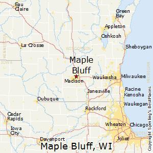 Comparison: Maple Bluff, Wisconsin - Madison, Wisconsin