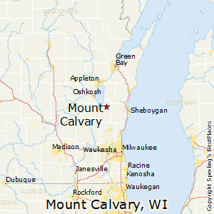 Mount_Calvary,Wisconsin Map