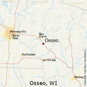 Where Is Wisconsin In Usa Map.Best Places To Live In Osseo Wisconsin