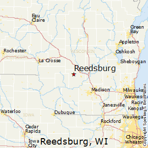 Reedsburg,Wisconsin Map