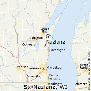 Comparison St Nazianz Wisconsin Neenah Wisconsin