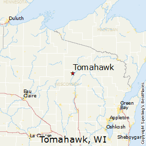 Tomahawk Wisconsin Map.Best Places To Live In Tomahawk Wisconsin