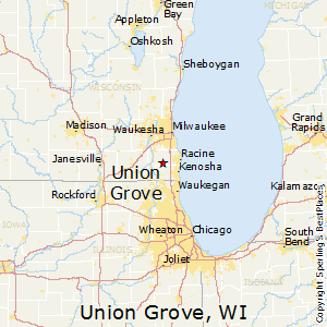 Union_Grove,Wisconsin Map