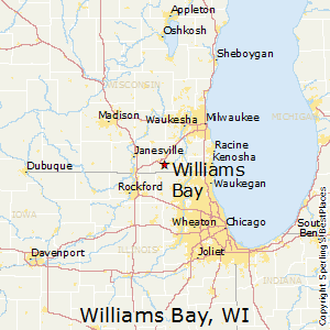 Williams_Bay,Wisconsin Map