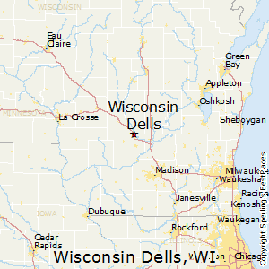 Comparison: Wisconsin Dells, Wisconsin - Lake Delton, Wisconsin