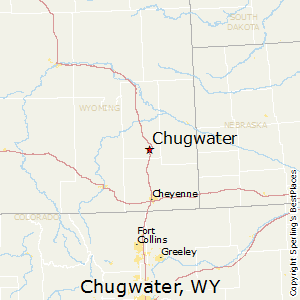 Chugwater,Wyoming Map