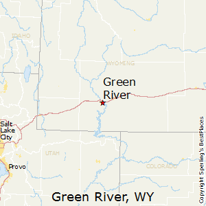 Green_River,Wyoming Map