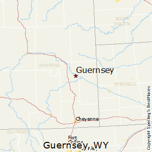 Guernsey Wyoming Map Best Places to Live in Guernsey, Wyoming