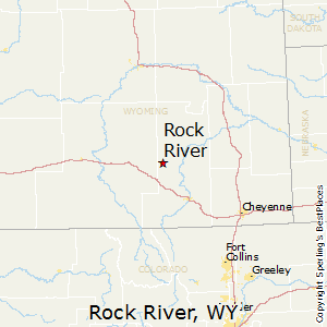 Rock_River,Wyoming Map