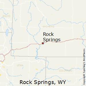 Rock Springs Wyoming Map.Rock Springs Wyoming Cost Of Living